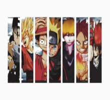 Manga Heroes One Piece - Short Sleeve
