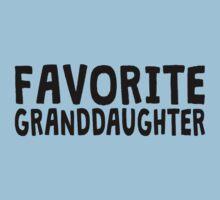 Favorite Granddaughter Baby Tee