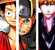 Manga Heroes Sticker