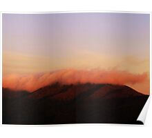 Cold Mountain Sunrise Poster