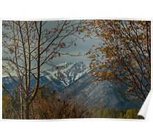 Banff Mountain View Poster