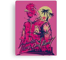Hotline Miami - Richard Canvas Print