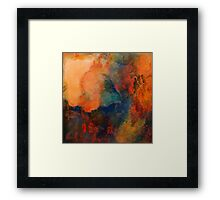 September Winds Framed Print