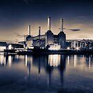 Battersea Power Station London by Ian Hufton