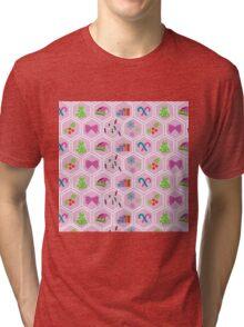 I'm dreaming of a pink christmas  Tri-blend T-Shirt