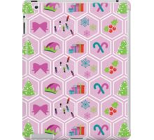 I'm dreaming of a pink christmas  iPad Case/Skin
