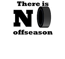 There Is No Offseason (Hockey) Photographic Print