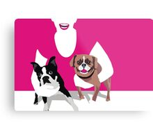 Tuppence and Pepper Metal Print