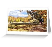 Fall Time and Loving  It! Greeting Card