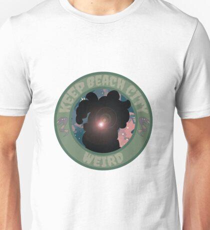 Keep Beach City Weird! Unisex T-Shirt