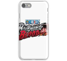 One Piece Burning Blood iPhone Case/Skin