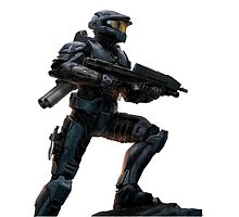 Halo art spartan by LazySparkle
