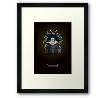 Mini Edward Scissorhands Framed Print