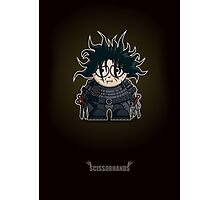 Mini Edward Scissorhands Photographic Print