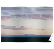 Sunset at the Pawnee Grassland in Spring XII Poster