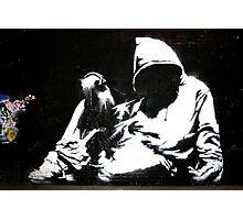 Hood - Banksy Photographic Print