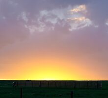Sunset at the Pawnee Grassland in Spring XVI by Camila Currea G.