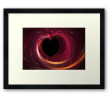 The Void within my Heart Framed Print
