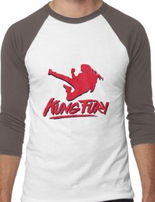 Kung Fury T-Shirt Men's Baseball ¾ T-Shirt