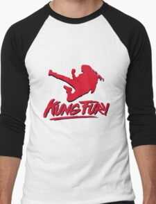 Kung Fury  Men's Baseball ¾ T-Shirt