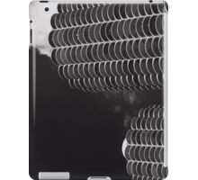 Marina City Morning B W iPad Case/Skin