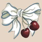 cherries-ribbon by Sanne Thijs