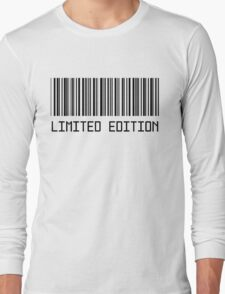 Limited Edition Barcode T-shirt T-Shirt