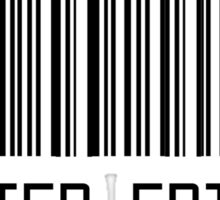 Limited Edition Barcode T-shirt Sticker