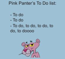 Pink Panther's List by artemisd