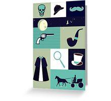 Victorian Sherlock Greeting Card