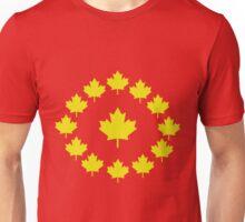 Canada Gold Maple Leaf Shirt Unisex T-Shirt