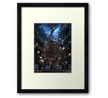 Clear Orbit Framed Print