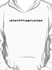 Trees sticker T-Shirt