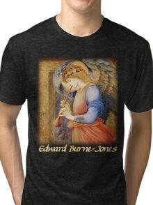 Burne-Jones - An Angel Playing a Flageolet Tri-blend T-Shirt