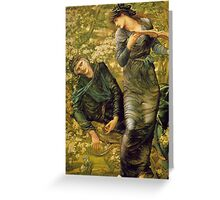 Burne-Jones – The Beguiling of Merlin Greeting Card