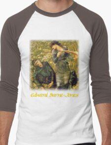 Burne-Jones – The Beguiling of Merlin Men's Baseball ¾ T-Shirt