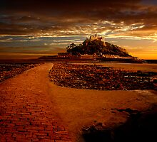 St Michaels Mount by Nigel Hatton, Derwent Digital Imaging
