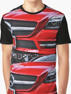 MERCEDES BENZ Front_red Graphic T-Shirt