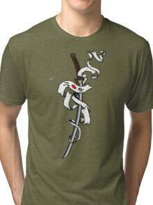Number Two Headband Tri-blend T-Shirt