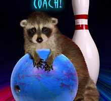 Thanks Coach Raccoon by jkartlife