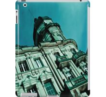 At the top. iPad Case/Skin