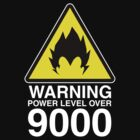 WARNING: Power Level Over 9000 by D4N13L