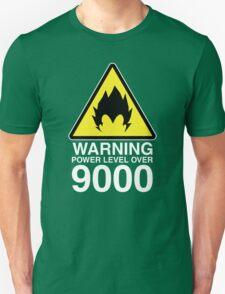 WARNING: Power Level Over 9000 T-Shirt