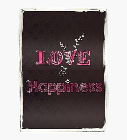 Love and Happiness Poster