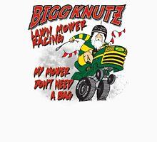 Bigg Knutz Lawn Mower Racing Unisex T-Shirt