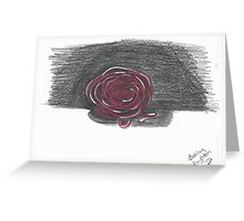 Rose in Red Greeting Card