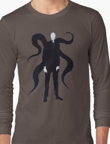 Slenderman Stands Long Sleeve T-Shirt