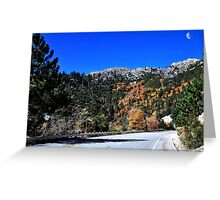 """""""On the road home"""" Greeting Card"""