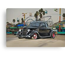1936 Ford 'Fun Ride' Coupe Canvas Print