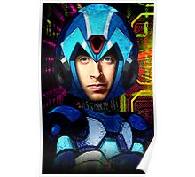Megaman wolowitz Poster